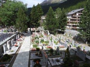 Climbers' cemetery