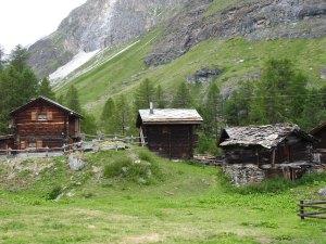 Hamlet above Zermatt