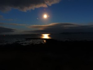 Sound of Harris view at night