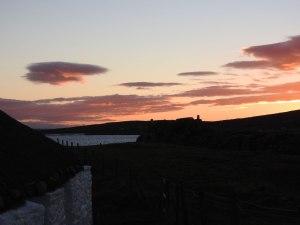 Berneray sunset